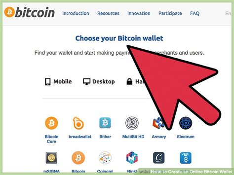bitcoin website 3 ways to create an online bitcoin wallet wikihow