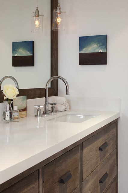 rustic bathroom countertops dazzling quartz countertops white cabinets to enhance