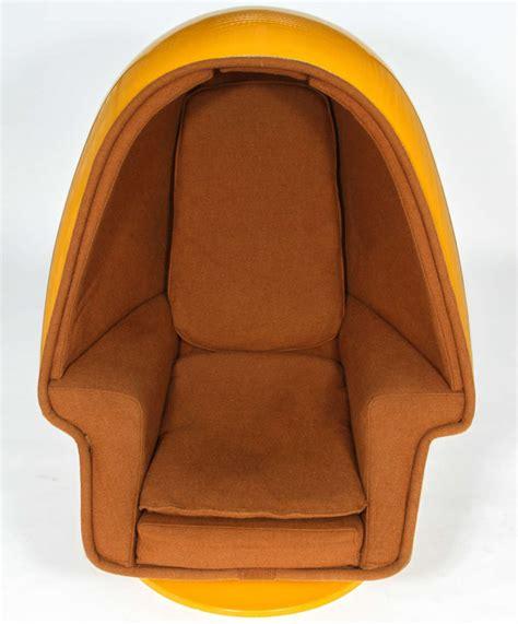 retro pod egg chair 1970 vintage west alpha chamber egg pod stereo chair