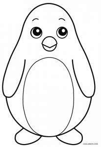 penguin coloring pages  images penguin coloring