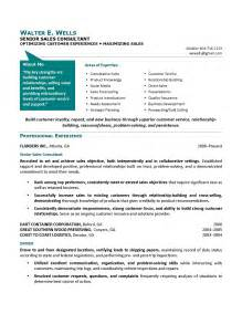 Technical Sales Consultant Cover Letter by Sales Consultant Resume Sle Technical Sales Consultant