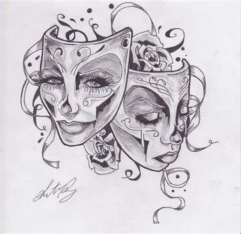 happy sad mask tattoo designs 25 best ideas about drama masks on ancient