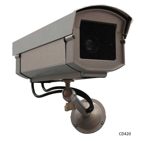 Cctv 4camera professional outdoor replica cctv with free