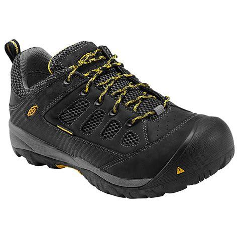 keen safety shoes keen tucson low steel toe waterproof work shoe k1010104