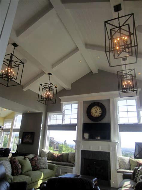 vaulted ceiling lighting 25 best vaulted ceiling decor trending ideas on pinterest