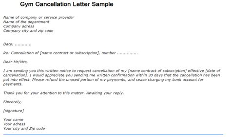 Letter Writing Format For Cancellation Cancellation Letter Writing Professional Letters