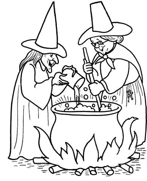 witch head coloring page the head of a sinister and ruthless witch coloring page