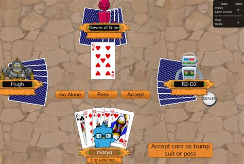 euchre by exle the next strategy