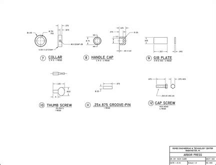 Assembly And Detail Drawings Nick Carr S Mechanical