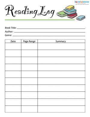 printable reading log cover page printable reading logs with summary book covers