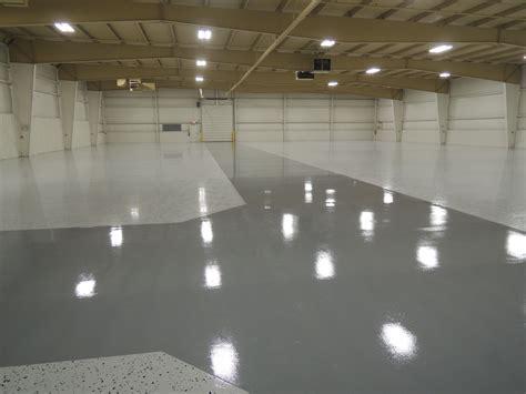 industrial floor  large decorative flakes  epoxy