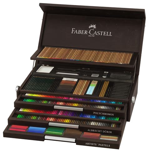 Pensil Warna Faber Castell Isi 36 limited edition faber castell 250th anniversary box set modernistic design