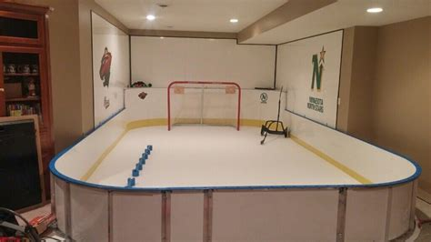 basement rink d1 backyard rinks synthetic basement or backyard