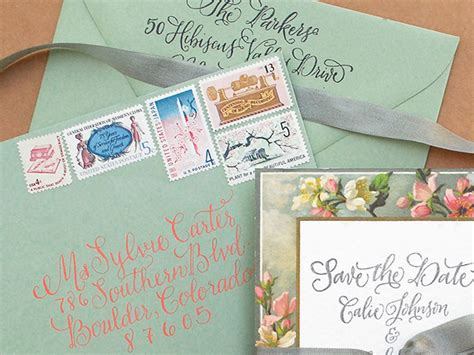 how to save on wedding invitation postage where to find vintage sts