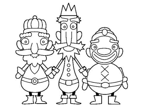 imagenes reyes magos para pintar dibujo reyes magos imagui