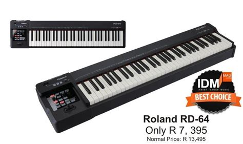 Keyboard Roland Rd 64 roland rd 64 digital piano only r 7 395