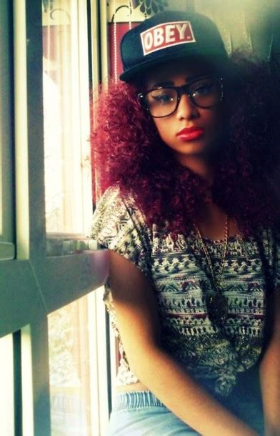 african american hipster hairstyles shirt t shirt top aztec hipster blogger obey