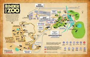 united states map of zoos binder park zoo