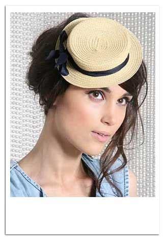 Chapeau Claudette Headwear For Season by More Mini Hats Chapeau Claudette Boater And Bow Hat At