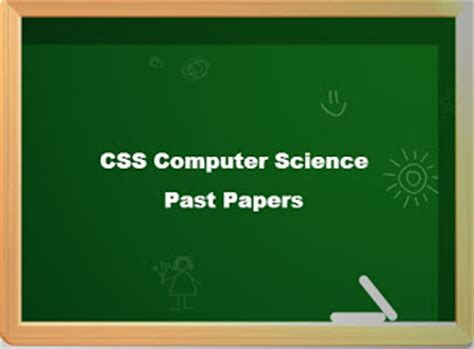 Computer Science Css Intro css computer science past papers mcqs prepare test