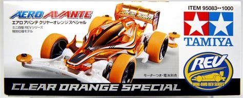 Tamiya Mini 4wd Aero Avante Clear Orange aero avante clear orange special tamiya รถแข ง ทาม ย า