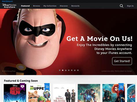 Walt Disney Launch New Digital Entertainment Portal Also Known As A Website by Walt Disney Studios Announces Disney Anywhere Deals