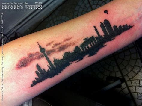 skyline tattoos berlin skyline flickr tattoos
