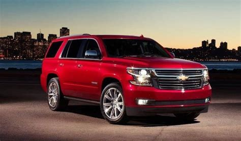 chevrolet tahoe 2020 release date 2020 chevrolet tahoe overview price and release date
