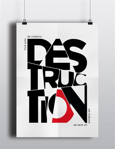 typography behance l affiche typographique on behance