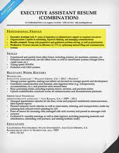 Sle Professional Profile For Resume by Create A Resume Profile Steps Tips Exles Resume Companion