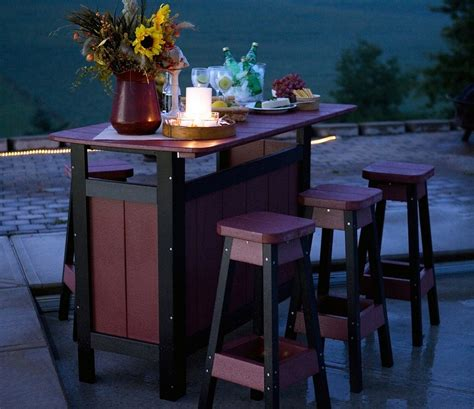 Diy Outdoor Bistro Table Diy Outdoor Bistro Table White Outdoor Bistro Table And Backed Stools Diy Projects Simple Diy