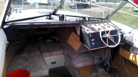 boat interior restoration boat restoration 1976 sea ray interior preview youtube
