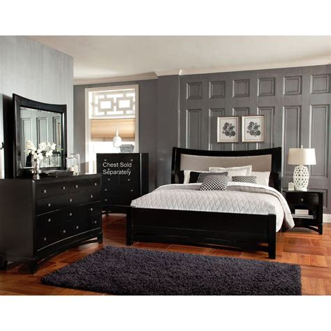 king bed bedroom set memphis 6 piece king bedroom set