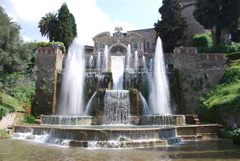 d roma villa d este tivoli the garden of eaden