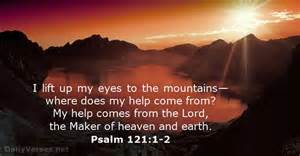psalm 121 1 2 bible verse of the day dailyverses net