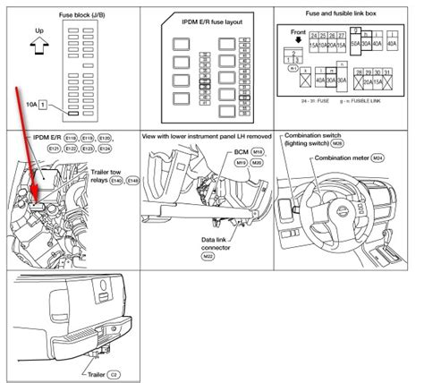 relay box diagram 2005 nissan frontier nissan auto parts