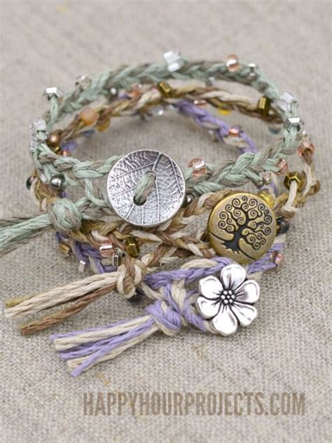hemp bracelet patterns with cool diy hemp bracelet patterns
