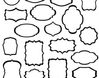 design frame outline calligraphy border cliparts co