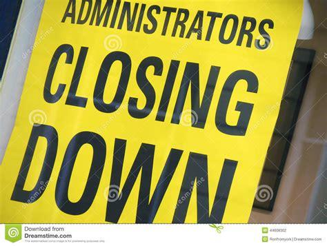 Closing Up Shop by Closing Stock Image Cartoondealer 20644873