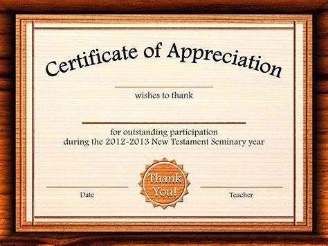 sample certificates of appreciation oyle kalakaari co