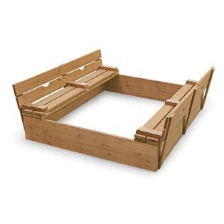 badger basket covered convertible cedar sandbox with two bench seats badger basket covered convertible cedar sandbox with two