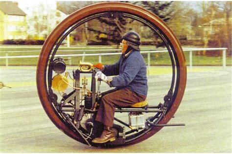 Sachs Einrad Motorrad by Restauriertes Monowheel Von 1910 Paradiert Auf Britischer