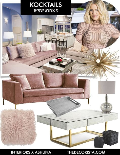 khloe living room get the look kocktails with khloe the decorista grey walls get the look and jonathan adler