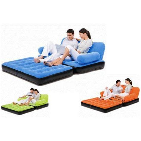 velvet air sofa bed bestway velvet 5 in 1 air sofa bed air launcher mrp