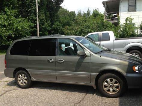 2004 Kia Sedona Gas Mileage Sell Used 2004 Kia Sedona Ex Mini Passenger 5 Door 3