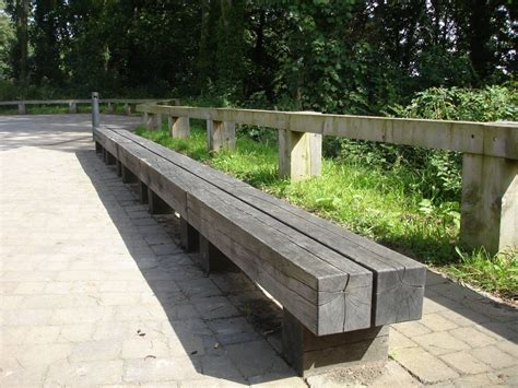 railway sleeper bench benches seats chairs from railway sleepers