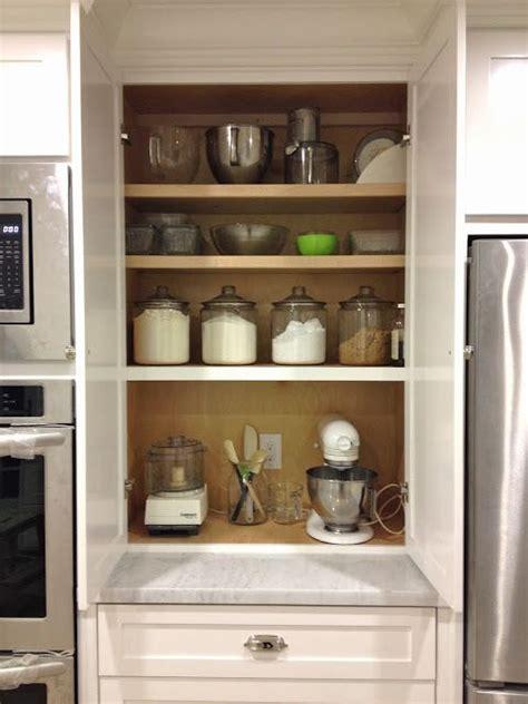 kitchen cabinet appliance garage 81 best baking center images on pinterest good ideas
