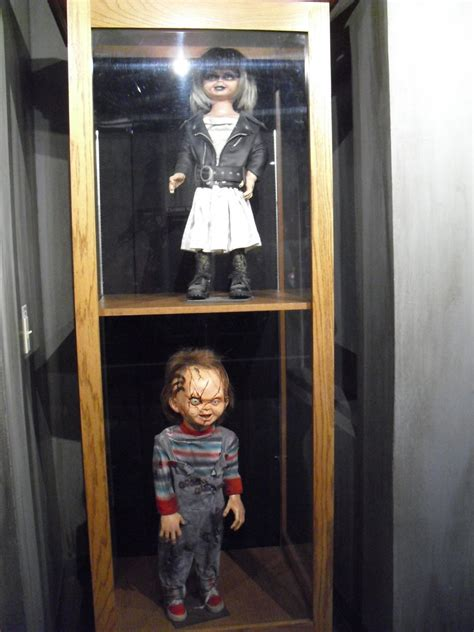 chucky house chucky and tiffany dolls from house of horrors by