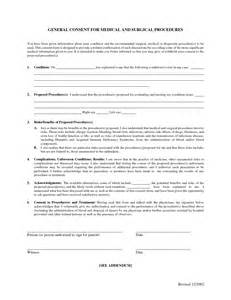 Procedure Consent Form Template by Best Photos Of Surgery Consent Form Sle Surgical
