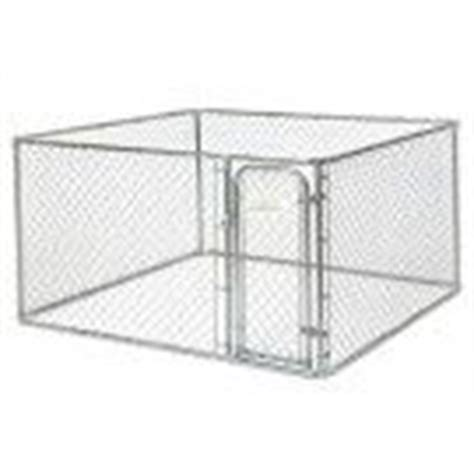 blue hawk kennel blue hawk 10 ft x 10 ft x 6 ft outdoor kennel preassembled kit from lowes makes a